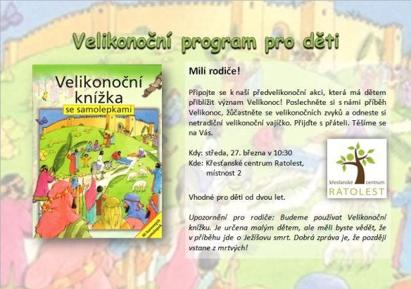 Velikonoční akce pro děti 2013