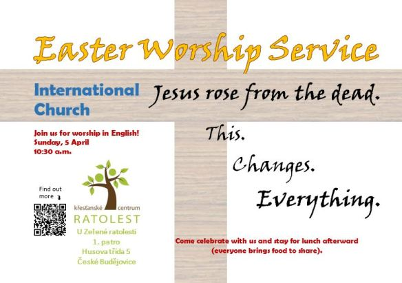 Easter Worship - International church